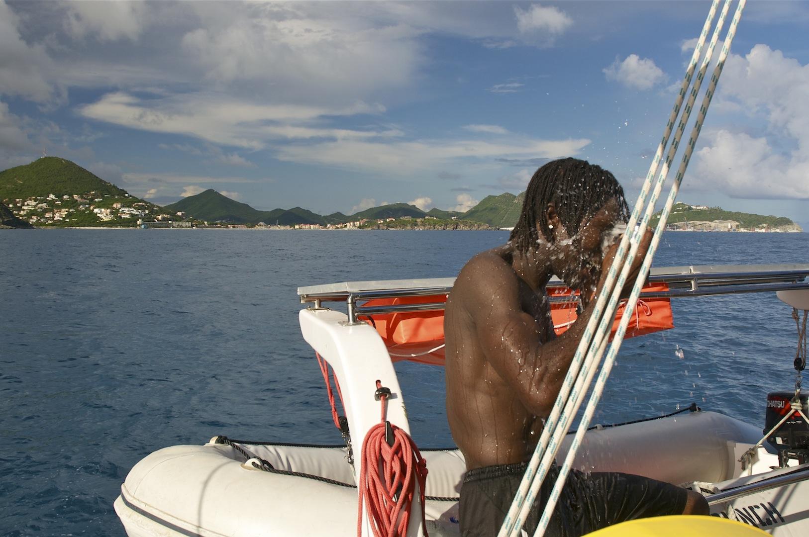 Zeiltocht op een luxe catamaran, St Maarten